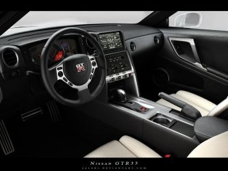 GTR 35 Interior by Saleri