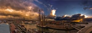 Harlingen in Autumn by DannyRoozen