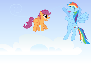 Scoots and Dashie by mandydax