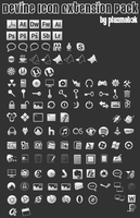 Devine Icon Extension Pack 1 by plazmat3k