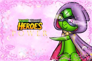 PlantsvsZombies Heroes POWER Magic D Wallpaper 1 by luvi05