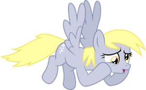 Worried Derpy by illumnious