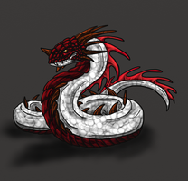Verden-Thick Snout Wyrm by Scatha-the-Worm