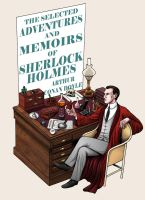 Memoirs and Adventures of Sherlock Holmes: Cover. by MikeMcelwee