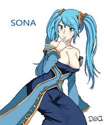 Sona Buvelle - League Of Legends by dnaworld