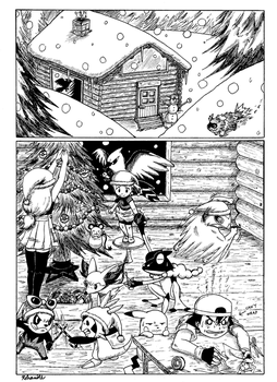 Pokemon XY Christmas Special Page 1. by Rohanite