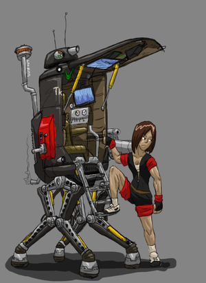 TKs Salvage Mech by ScottaHemi
