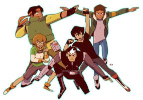 Voltron Force by JE3