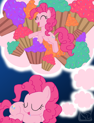 Sweet Dreams, Pinkie Pie by IcyPanther1