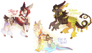 Potion Keepers Adopts [ CLOSED ] by Plumbeck