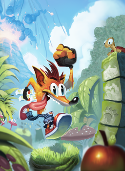 Crash Bandicoot by Henkkab