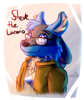 Steve the Lucario Redesign by Steve-the-Lucario
