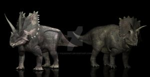 Agujaceratops Anchiceratops by PaleoGuy