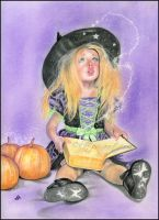 Wickedly cute spells by Katerina-Art