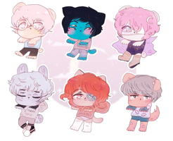 CHARITY ADOPTS (SET PRICE) (CLOSED) by Tsukune-Teller