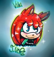 Viki traditional art by TothViki