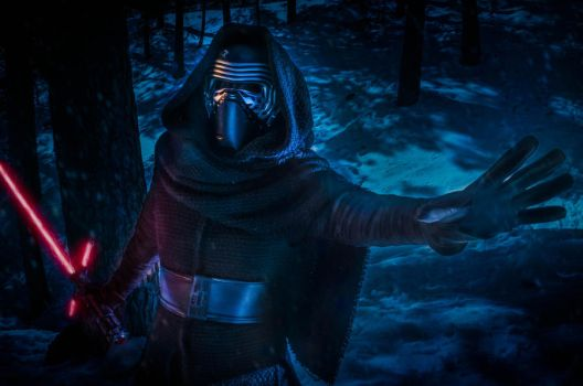 Kylo Ren by ThelemaTherion