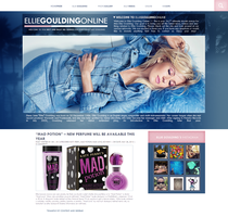 Ellie Goulding Free Layout by lenkamason