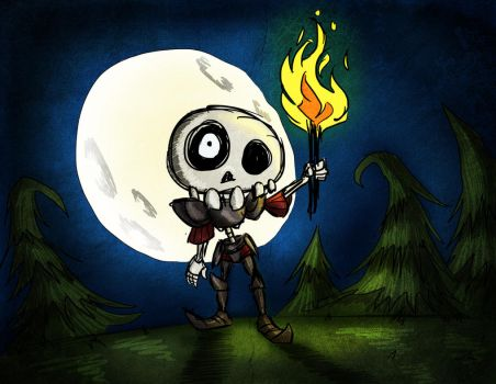 Don't Starve Sir Daniel by DaixCameleon