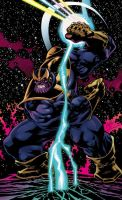 Thanos by Jones and Beatty by whoisrico