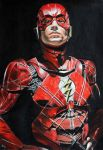 The Flash Ezra Miller by donchild