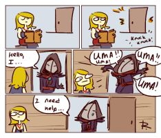The Witcher 3, doodles 248 by Ayej