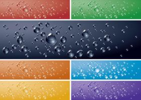 Free Vector Water Drops Background Texture by vectorbackgrounds