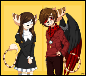 (commission - Anime Style) by AideeMargarita