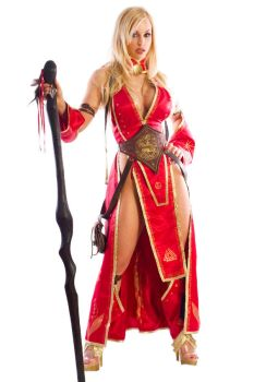Jenny Poussin as Viking Seoni2 by ElvenTailor