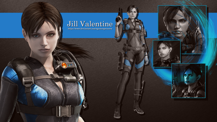 Jill Valentine Wallpaper 4 by xGamergreaserx