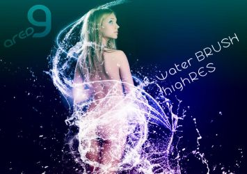 Water Brushes PhotoShop by superzstock