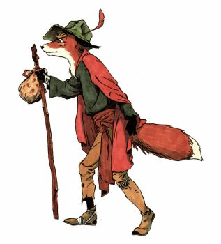 Fox a la Rackham by PeterDonahue