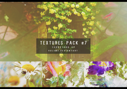 Textures pack #7 4P By vul3m3 by vul3m3