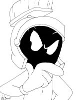 Marvin the Martian by AniMat505