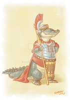 Roman General Brutus by Eligecos