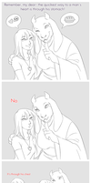 .:UT:. Let's Be Realistic by kamillyanna