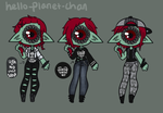 [outfit set] - KayzieRaichu [1/2] by hello-planet-chan