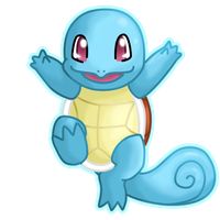 Squirtle - Carapuce by Kaweii