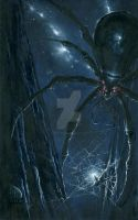 Morgoth Ensnared by Ungoliant by KipRasmussen