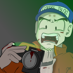 Krillin Plays Outlast 2 by ZodiacEclipse