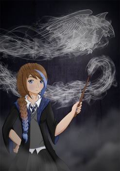 [UP] ~ Ravenclaw Patronus by FetchTheTable