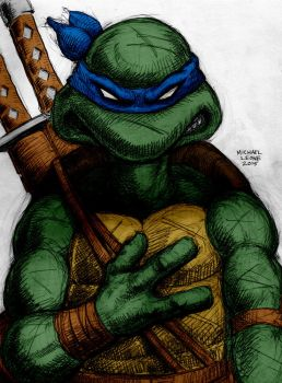 Leonardo By Myconius by Kenkira