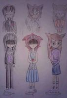 Main OC's: Dead children/Artificially by bestdream1b
