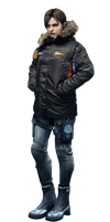 Jill Valentine BSAA coat render by Thanhthao90