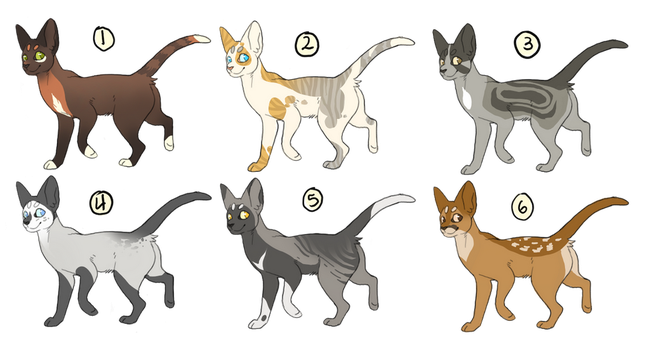Cat Adopts- USD only! by DoctorCritical