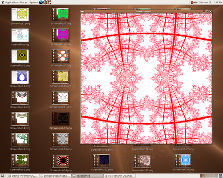here is a fractal - 32 by dbqpdb