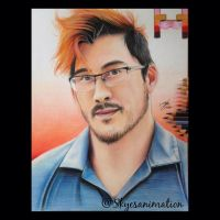 Markiplier drawing (skyesanimation) by skyesanimation