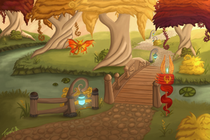 World of Warcraft - Eversong Woods by TaraOBerry