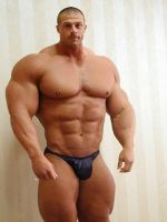 Huge mature muscle guy by Setpoirot