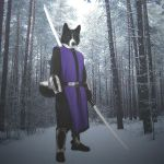 Karelian bear dog warrior by Awsassin